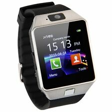 DZ-09 Bluetooth Smart Pedometer Watch Sport GSM SIM Phone for IOS Anroid Silver
