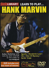 Lick Library LEARN TO PLAY HANK MARVIN The Shadows Guitar Video DVD Lessons