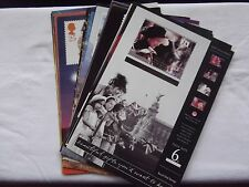 27 x Post Office A4 Commemorative Stamp Posters 1992 - 95. See pics in listing.