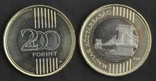Hungary – Bimetal 200 Forint Unc Coin 2009 Year