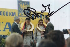 BRIAN REDMAN HAND SIGNED PORSCHE 6X4 PHOTO 9.