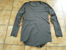 Rundholz black Label,Longshirt/Tunika,zinc,cotton-stretch,Gr.XL,neu,Lagenl.Traum