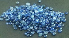 10Ct.NATURAL CERTIFIED BURMA BLUE SAPHIRE ROUND BEADS DRILD SIZE=2--4mm (50pc)