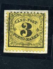 País post 3 KR. kabinettbriefstück de abo-colección Bühler mié # LP 2 150 €
