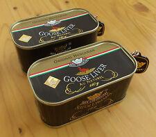 Hungarian Goose Liver au naturel 2x140g/ 2x4.9 oz 91% Foie Gras content FREE sh.