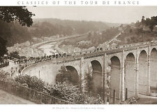 TOUR DE FRANCE PRINT Tour of the 1920s cycling sports bicycle race poster