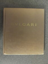 BVLGARI 6 CATALOGUE HARBACK BOOK WITH CONTENTS LEAFLET   H/B* UK POST £3.25 *