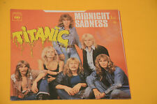 "7"" 45 (NO LP )SOLO COPERTINA TITANIC MIDNIGHT SADNESS ORIG ITALY 1974"