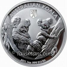 Australia 2011 Koala Berlin Bear Privy Mark $1 World Money Fair Special