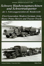 Tankograd 5009 The 25-ton-class heavy prime-movers and heavy-duty tractor-trucks