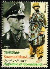 WWII German Army (Hermann Göring Panzer Division) Uniform Stamp / Erwin Rommel