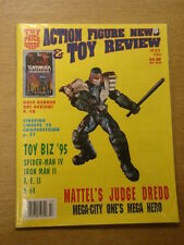 ACTION FIGURE NEWS & TOY REVIEW #33 VF 1995 JULY TOMART US MAGAZINE JUDGE DREDD