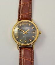 VTG POLJOT AUTOMATIC GOLD PLATE SOVIET USSR MECHANICAL WRISTWATCH 23 J