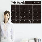 This Month Planner Blackboard Removable Decal Home Decor Art Wall Stickers Vinyl