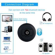 Transmisor y receptor inalámbricos de audio estéreo Bluetooth 3.5mm Jack A2DP