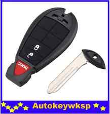 Jeep Chrysler Dodge Journey 2008-2010 2 Button Key Remote Fob Case Blank Shell