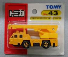Unopened TOMY JAPAN Tomica #43 NISSAN DIESEL CRANE TRUCK BLISTER CARD PACKING
