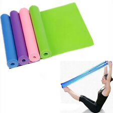 Elastic Yoga Pilates Rubber Stretch Resistance Exercise Fitness Band Belt A73