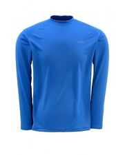 Simms WaderWick Core Crew Neck ~ Ocean Blue NEW ~ Closeout Size Small