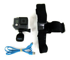 GoPro Hero+ LCD Bundle w/ Water Proof Case + Head Strap + Clip + USB Cable