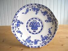 Sutherland Blue and White Delft Pattern Cake or Bread & Butter Plate