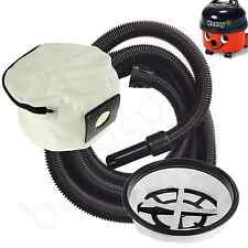 HOSE FILTER & REUSABLE DUST BAG for HENRY Numatic  Vacuum Extra Long 6 Metres