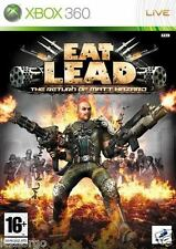 Eat Lead: The Return Of Matt Hazard  XBOX 360 scatola e manuale ita NUOVO