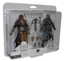 ASSASSINS CREED REVELATIONS EZIO AUDITORE TRU EXCLUSIVE 2-PACK ACTION FIGUR NECA