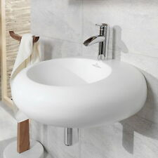 Villeroy&Boch PURE STONE Waschtisch 517061R2 Star White 605x540 als Wand&Aufsatz