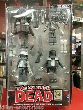 Walking Dead Minimates Days Gone Bye B&W SDCC Exclusive Box Set - DST