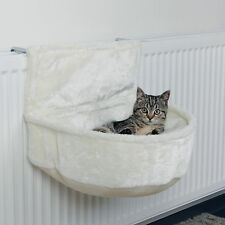 Cuddle bag for radiators white Stuffed Cat bed Art. 43140 for cats Heating
