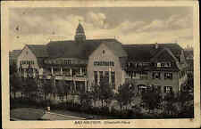 1916 Feldpostkarte aus Bad Nauheim Hessen Elisabeth Haus Feldpost gelaufen 1.WK