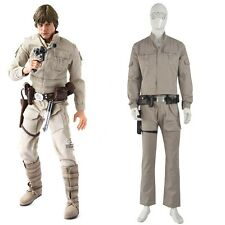 Star Wars The Empire Strikes Back Luke Skywalker Cosplay Men Halloween Costume
