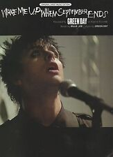 Green Day Wake Me Up When September Ends   US Sheet Music