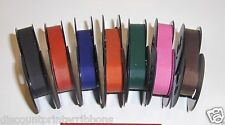 7 pack Colored Royal Safari Typewriter Ribbons in new Colors (Free Ship in USA)