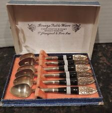 Siam Bombay Bazar Bronze Tableware Beautifully Crafted Spoons