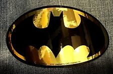 BATMAN shiny gold foil logo STICKER -DC Comics metallic bat emblem decal sdc122f
