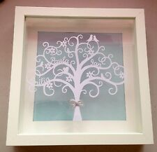 Personalised Family Tree Framed Papercut