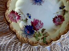 "SB&S Sampson Bridgwood & Sons Lot 5 CHRYSANTHEMUM 9"" SIDE PLATES - Reg. 369451"