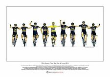 Chris Froome - Team Sky - Tour de France 2016 - Ltd Edition Fine Art Print A3