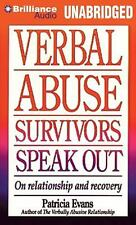 Verbal Abuse Survivors Speak Out : On Relationship and Recovery by Patricia...