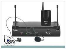PROAUDIO PW220 Radiomicrofono professionale wireless ad archetto vhf per headset