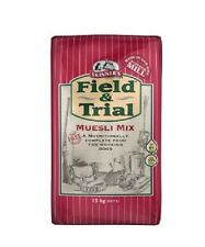 skinners field and trial museli mix 15kg x 2 complete fussy dog food