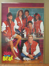 Vintage 1991 Saved By the Bell original cast poster 7069