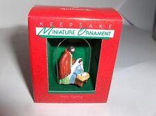 Holy Family`1988`Miniature-Mary,Joseph & Baby,Hallmark Christmas Ornament-: New