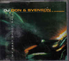 DJ Don&Svenson-My Beat Shoot Back cd maxi single eurodance holland