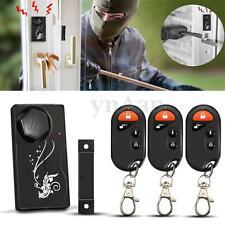 Sans Fil Magnétique Alarme Capteur Maison Fenêtre Porte Sécurité+3 Télécommande