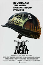 Full Metal Jacket Stanley Kubrick movie poster #2