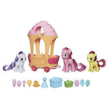 My Little Pony Pinkie Pie + Apple Bloom + Sweetie Belle + rolling sweets cart