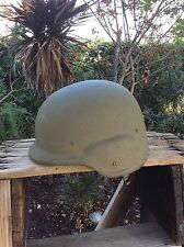 Military L-1 Army Surplus Hard Helmet Size Large (No Cloth Cover)